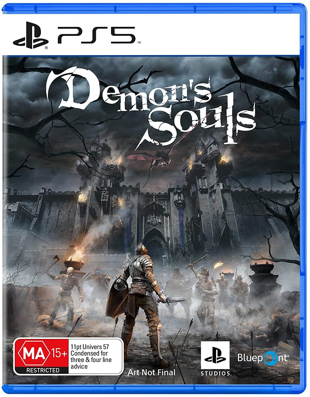 Два новых скриншота и предварительный бокс-арт ремейка Demon's Souls