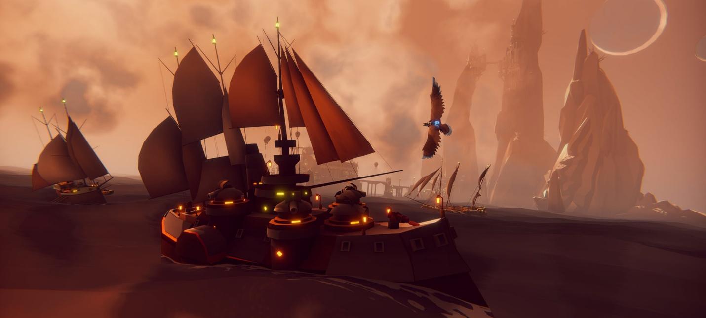 RPG-аркада о полетах на орле The Falconeer выйдет 10 ноября