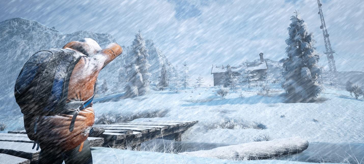 Выжить зимой  первый трейлер Winter Survival Simulator