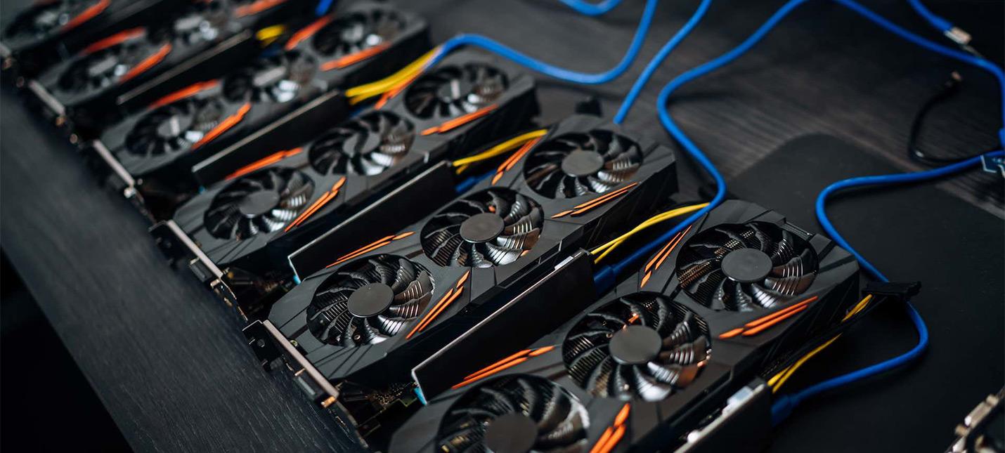 Криптомайнеры могут привести к взлету цен на видеокарты RTX 3070 и RTX 3080