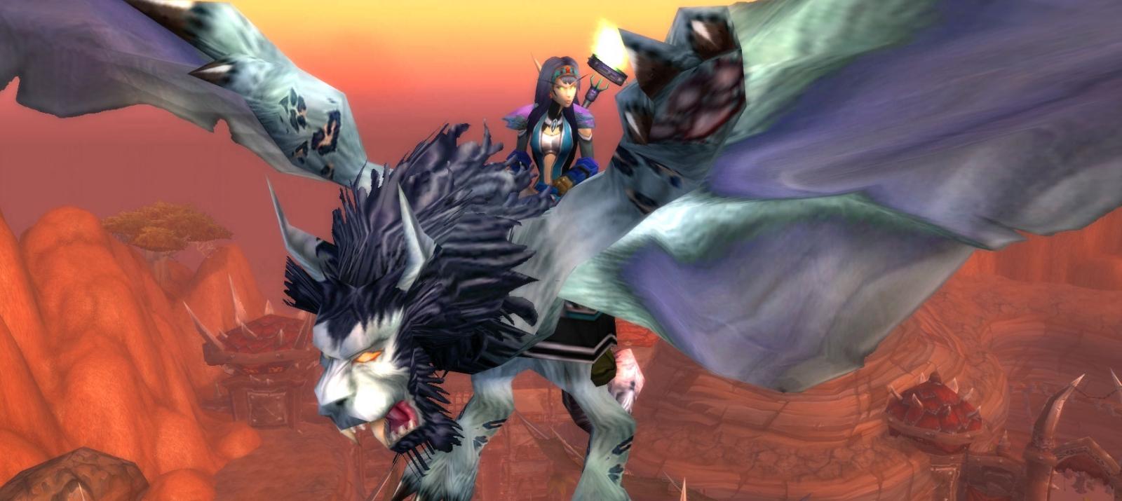 Игрок создал в World of Warcraft бюджетную версию Microsoft Flight Simulator