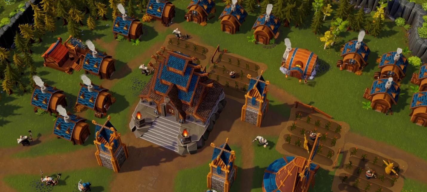 Ключевые особенности геймплея в новом трейлере кооперативной стратегии DwarfHeim