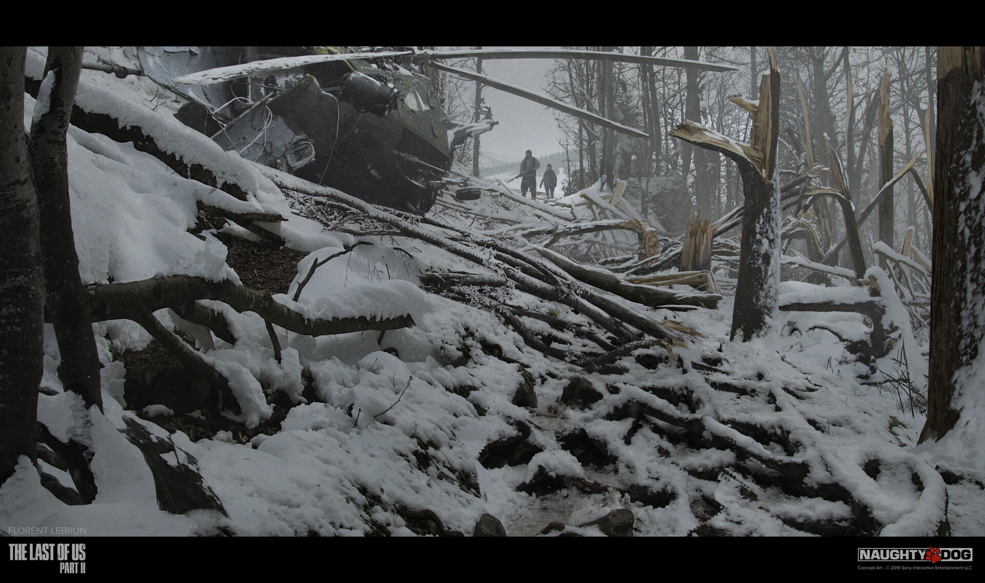 Картины Джоэла, быт Шрамов, разрушенные города — концепт-арты The Last of Us 2