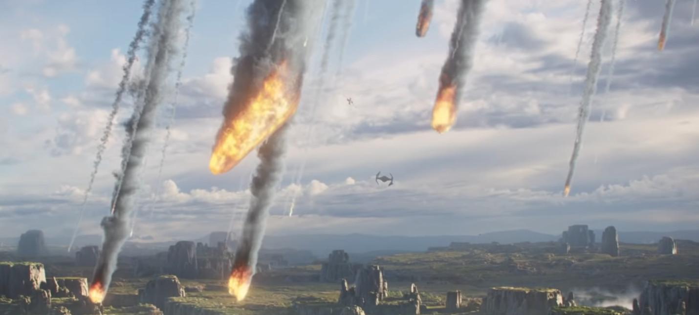 Лидер Titan Squadron в короткометражке по мотивам Star Wars Squadrons
