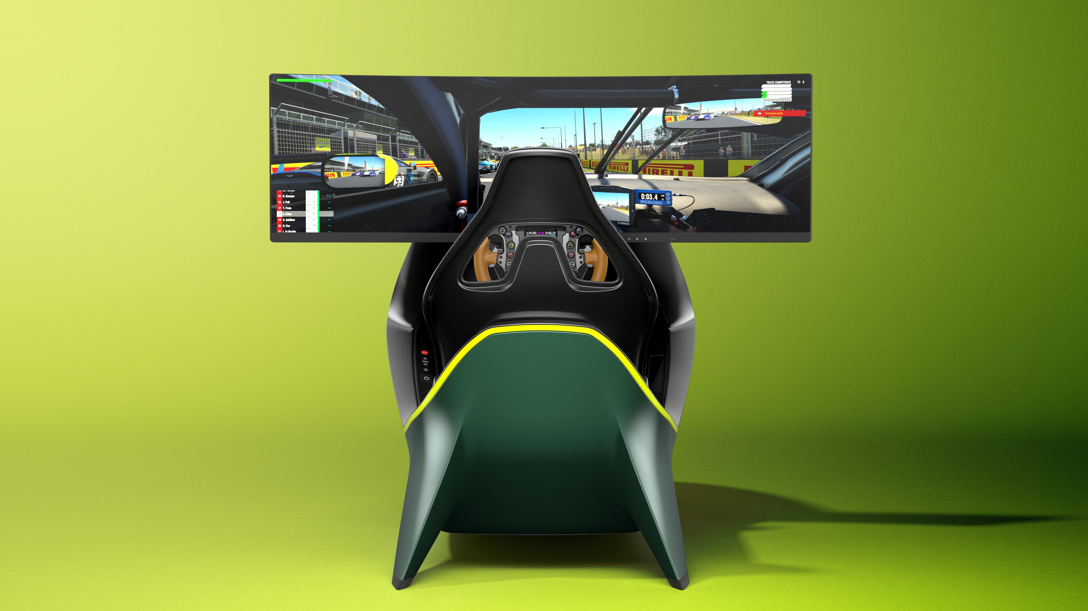 Aston Martin выпустит симулятор виртуальных гонок за 74 тысячи долларов