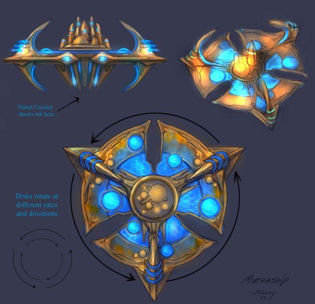 Blizzard показала ранее неопубликованные концепт-арты StarCraft 2