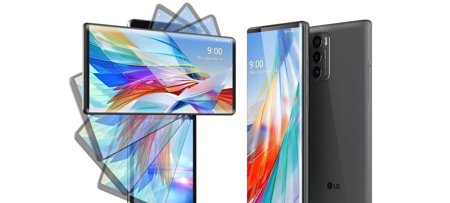 LG представила смартфон-ротатор Wing с двумя экранами за 1000