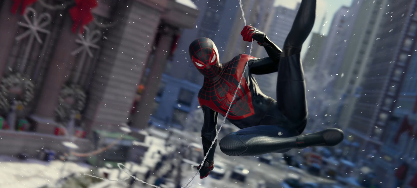 Новый геймплей Spider-Man: Miles Morales c PS5, релиз в ноябре