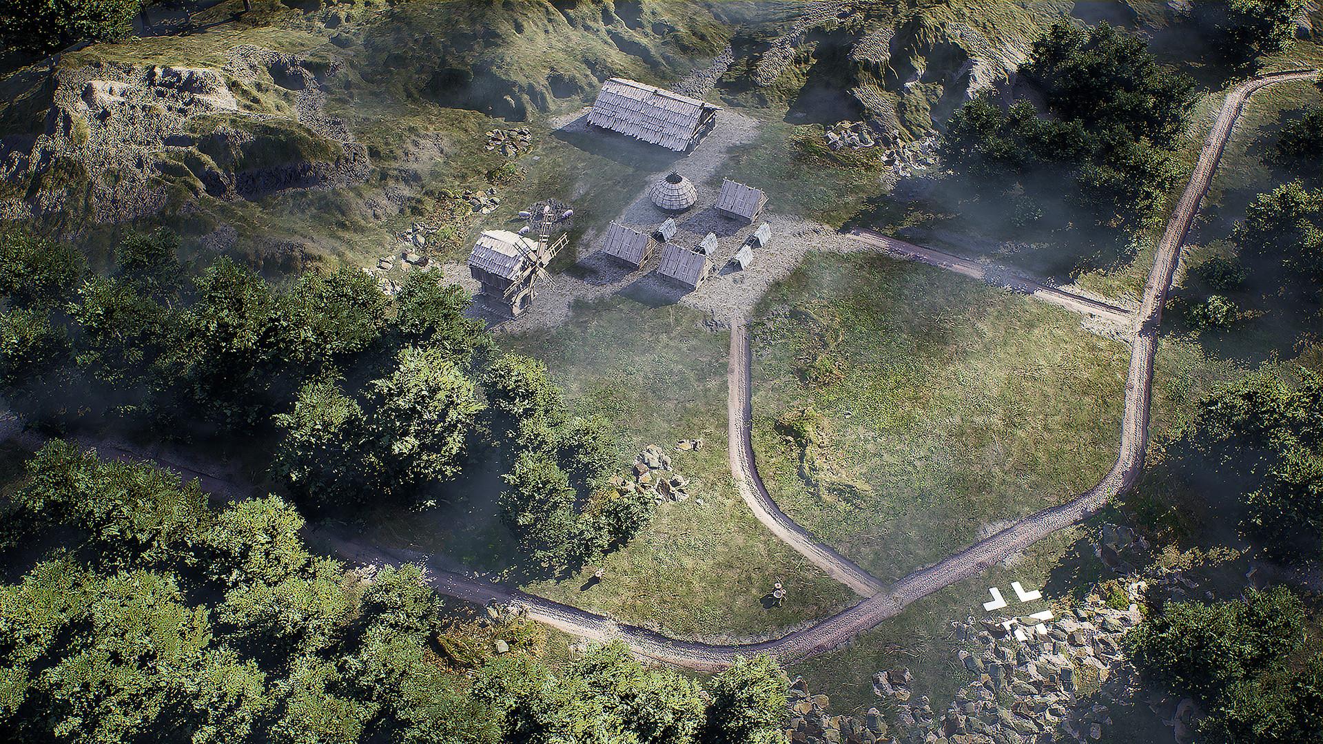 Завоевание земель в трейлере симулятора Viking City Builder