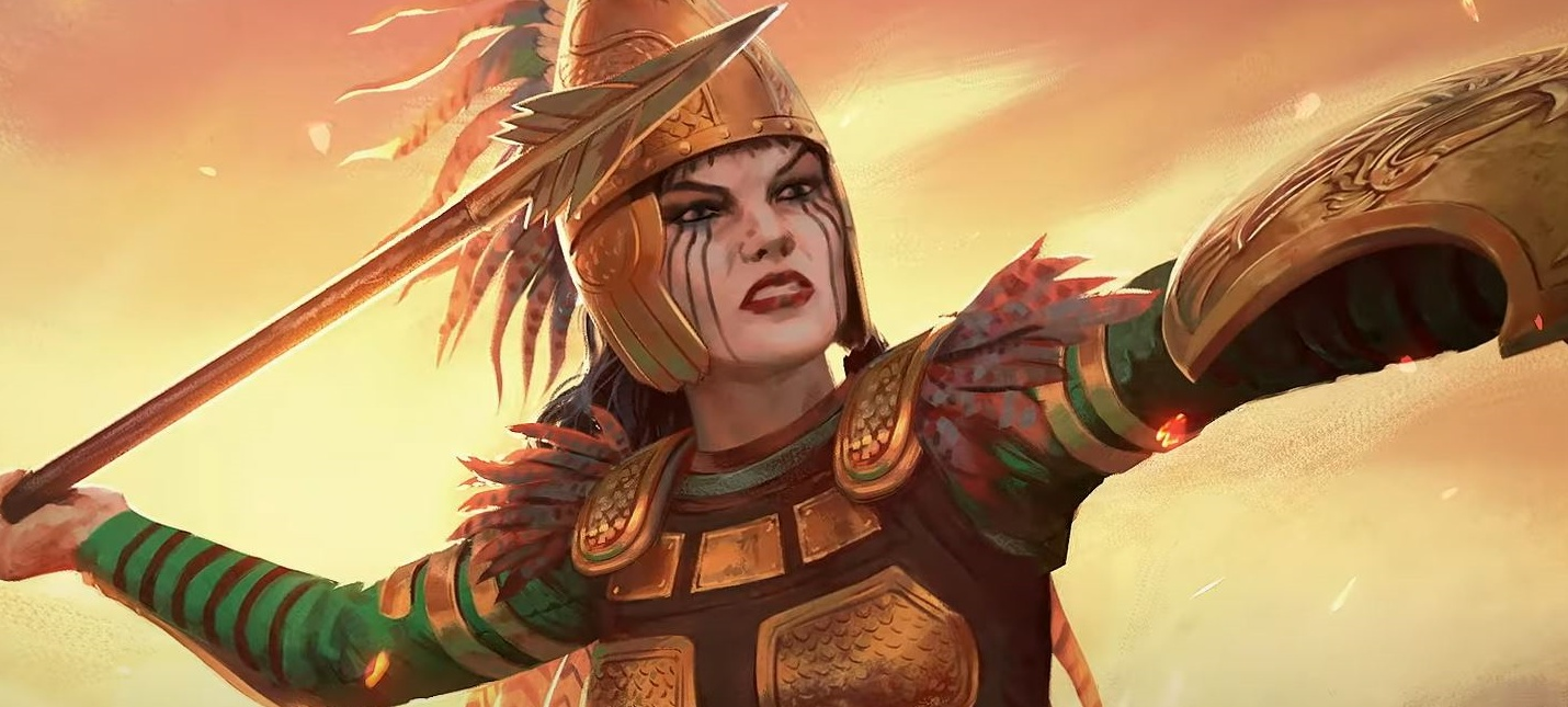 Амазонки в трейлере первого дополнения для Total War Saga: Troy