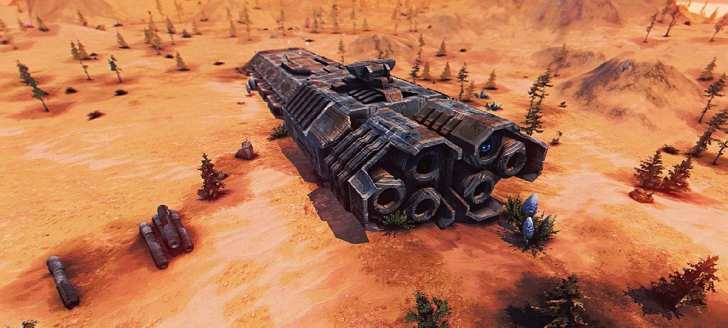 Восстановление цивилизации в трейлере стратегии Ragnorium