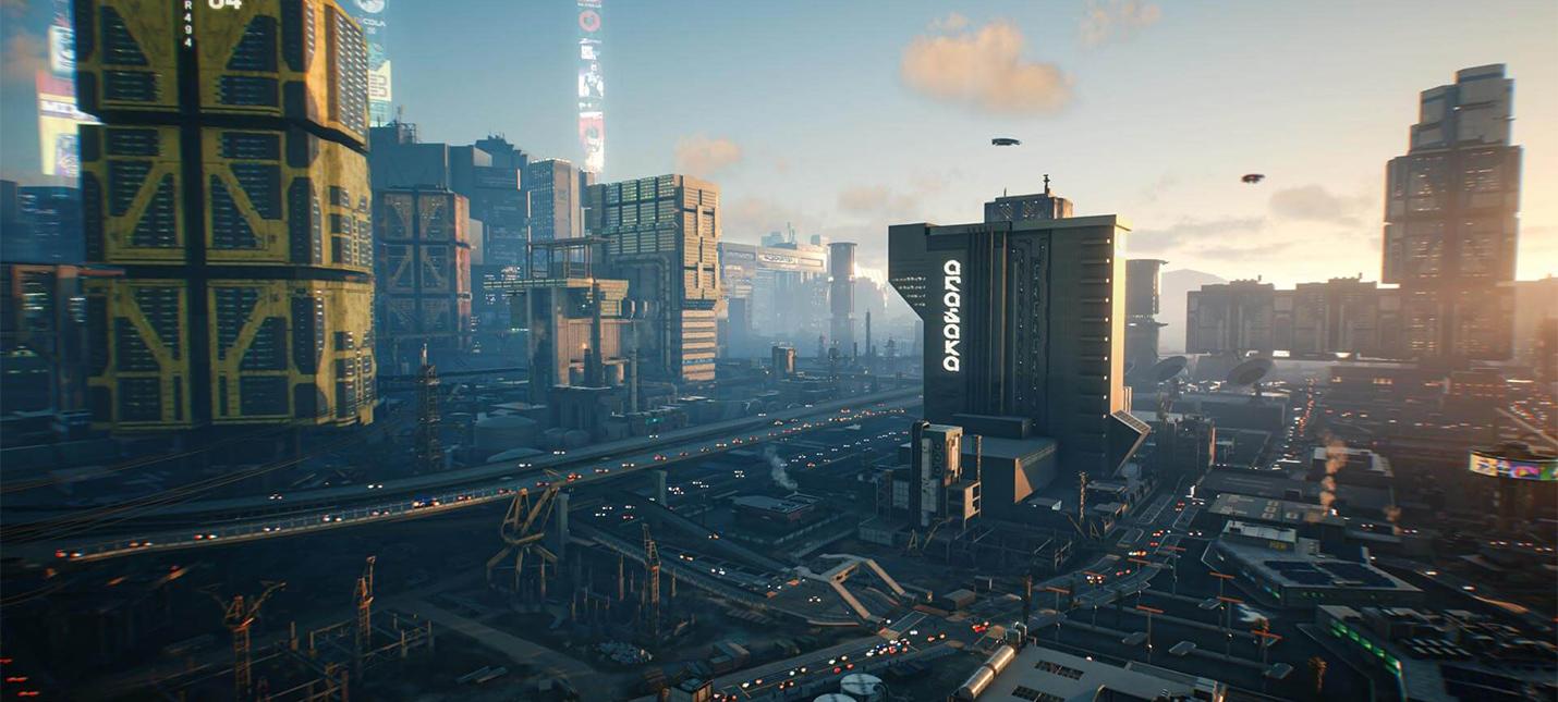 Информация о Найт-Сити из новой презентации Cyberpunk 2077