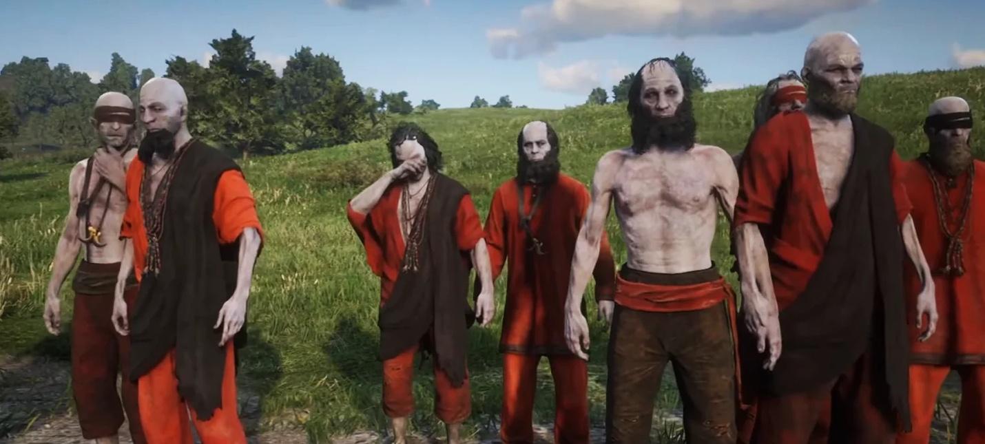 Армии Страха  в Red Dead Online нашли модели мертвецов