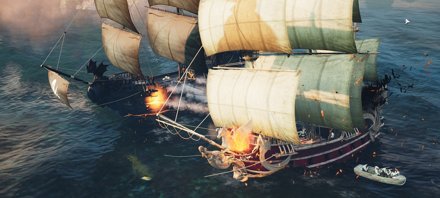 Командование пиратским флотом в симуляторе Pirate Commander