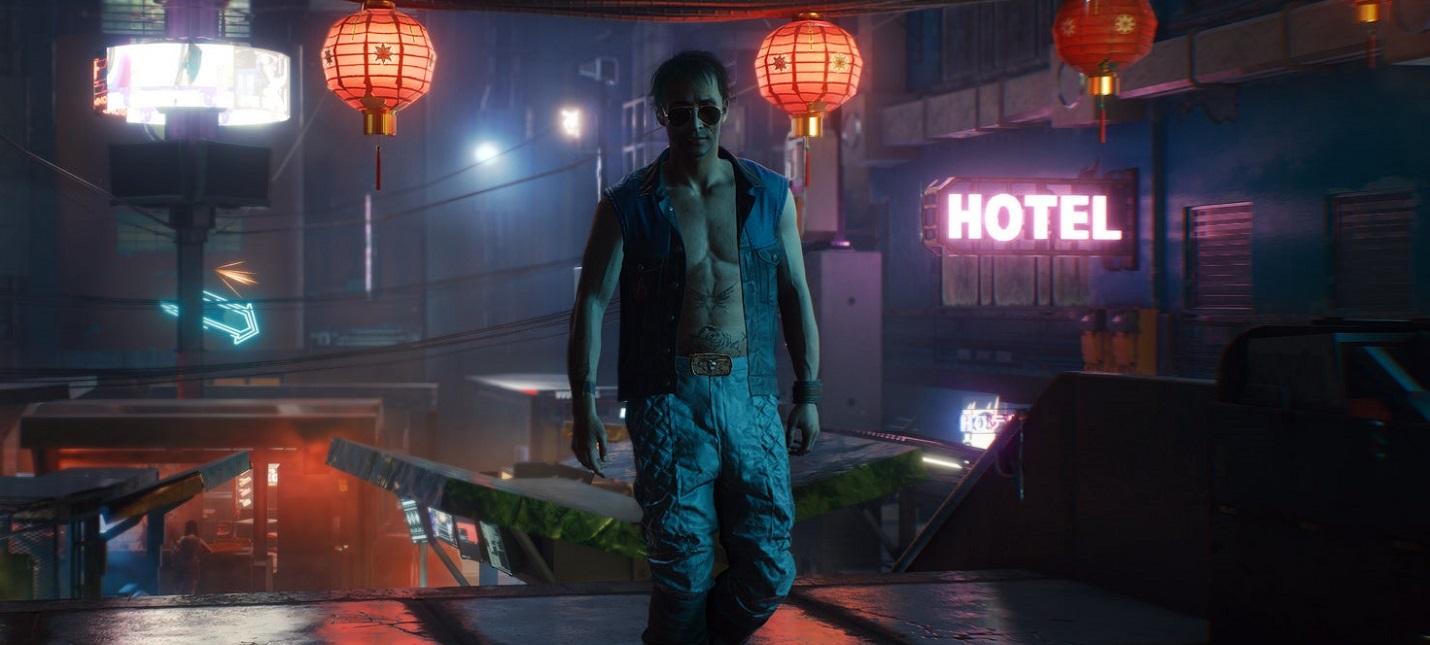 Настоящая вода, охрана, буррито и такси — реклама в Cyberpunk 2077