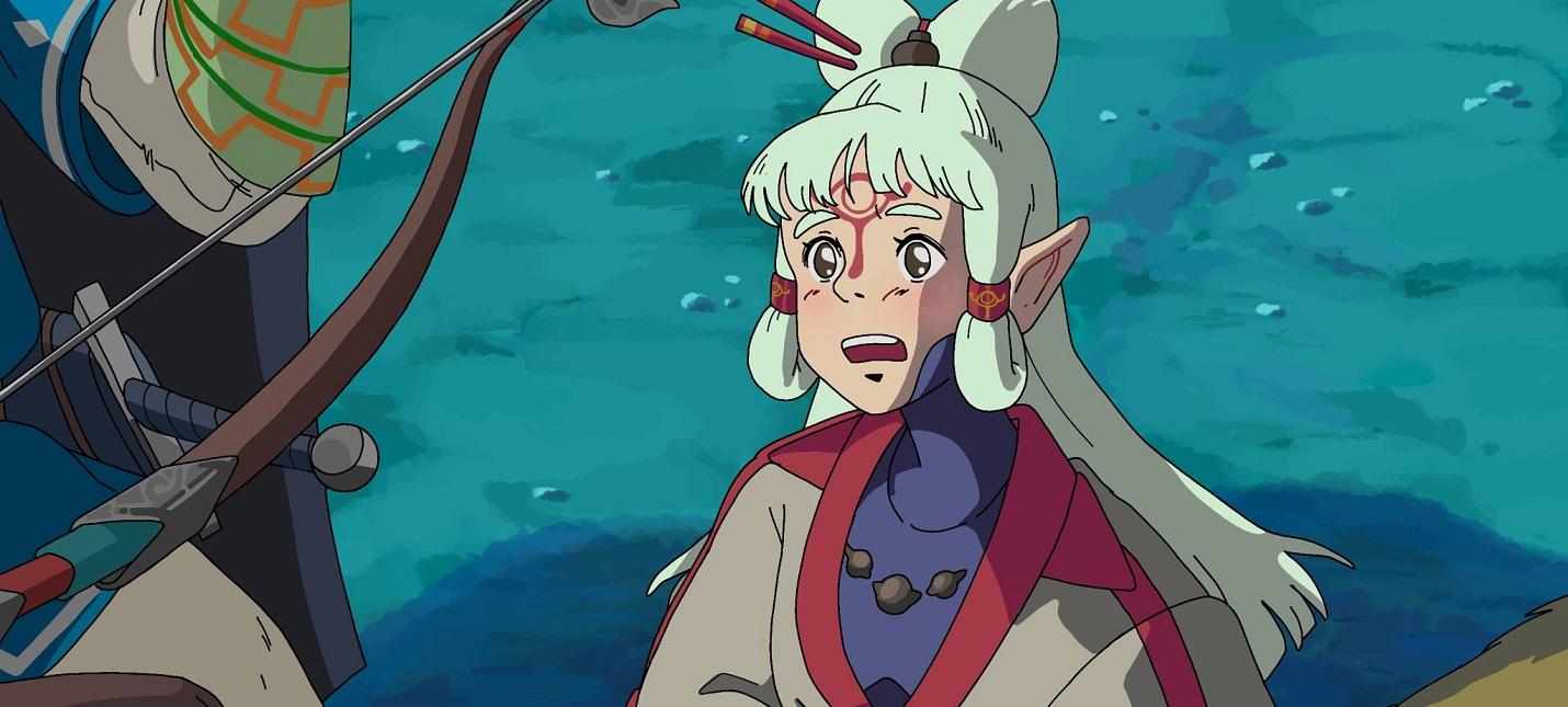 Художник изобразила сцены из Принцессы Мононоке с героями The Legend of Zelda