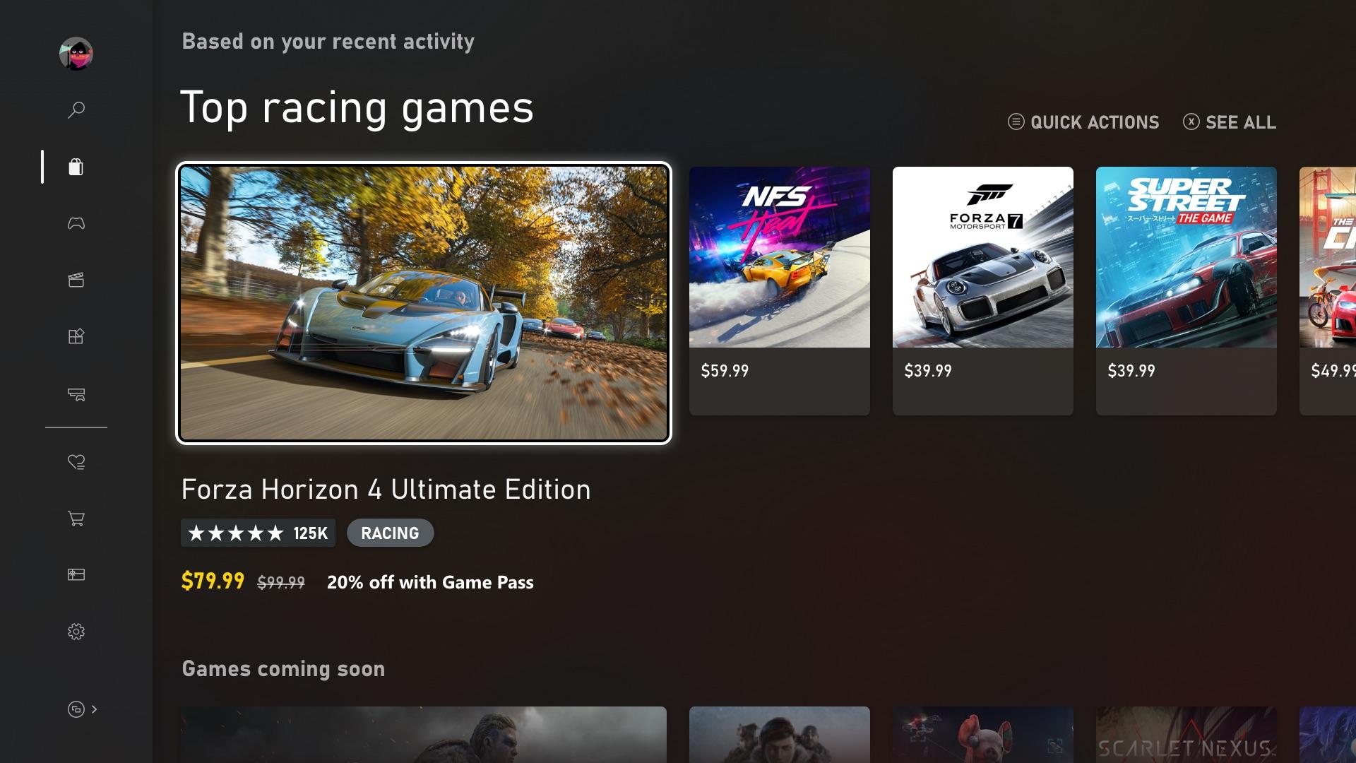 Состоялся полноценный запуск обновленного Microsoft Store на Xbox One