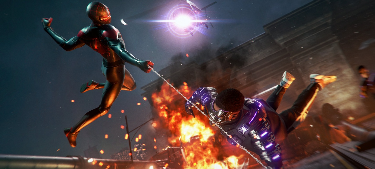 Фанат увеличил частоту кадров геймплея Spider-Man Miles Morales до 60fps