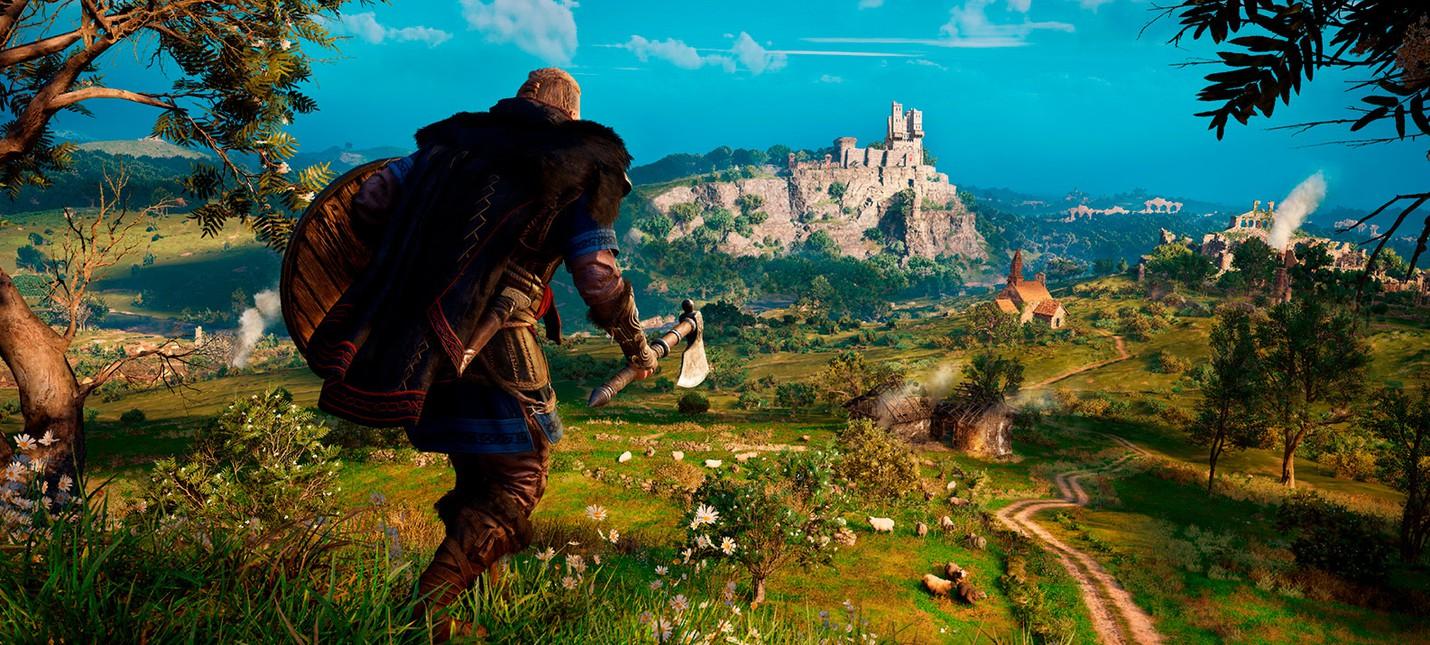 СМИ Assassins Creed Valhalla на PS5 тоже будет поддерживать 4K60fps