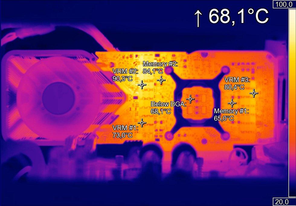 Память на RTX 3080 греется до 104 градусов в играх