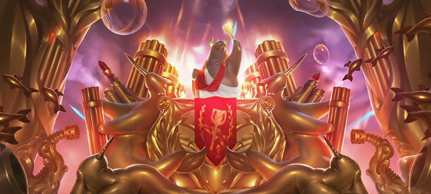 Кузнец выковал Золотую лопатку из Teamfight Tactics