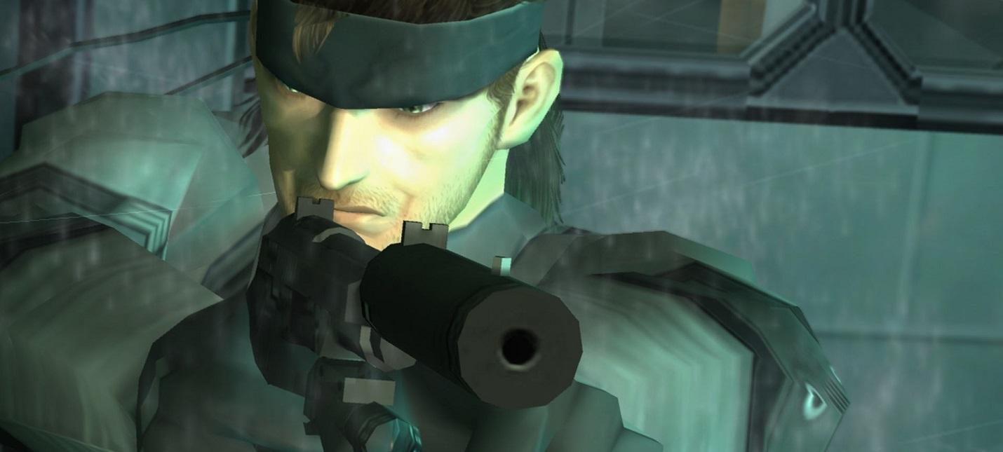 Слух Konami готовит ремейк Metal Gear Solid