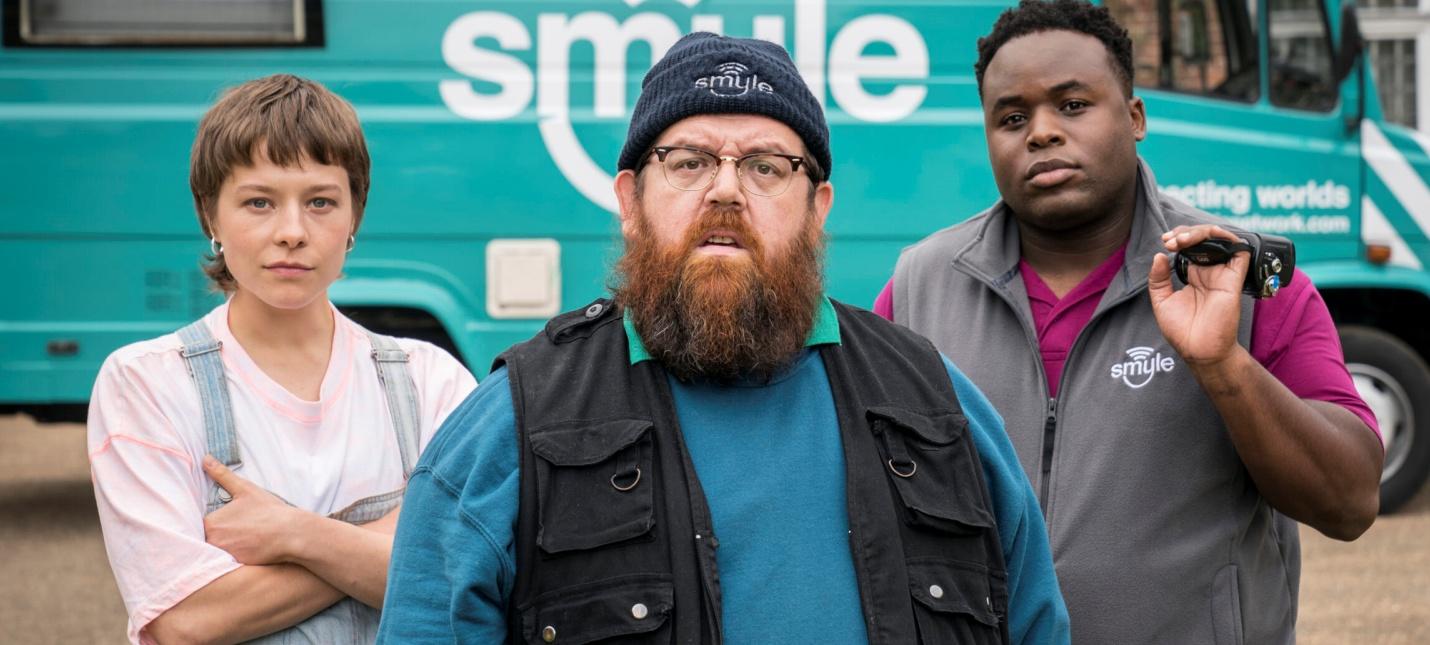 Первый трейлер комедийного шоу Truth Seekers с Саймоном Пеггом и Ником Фростом