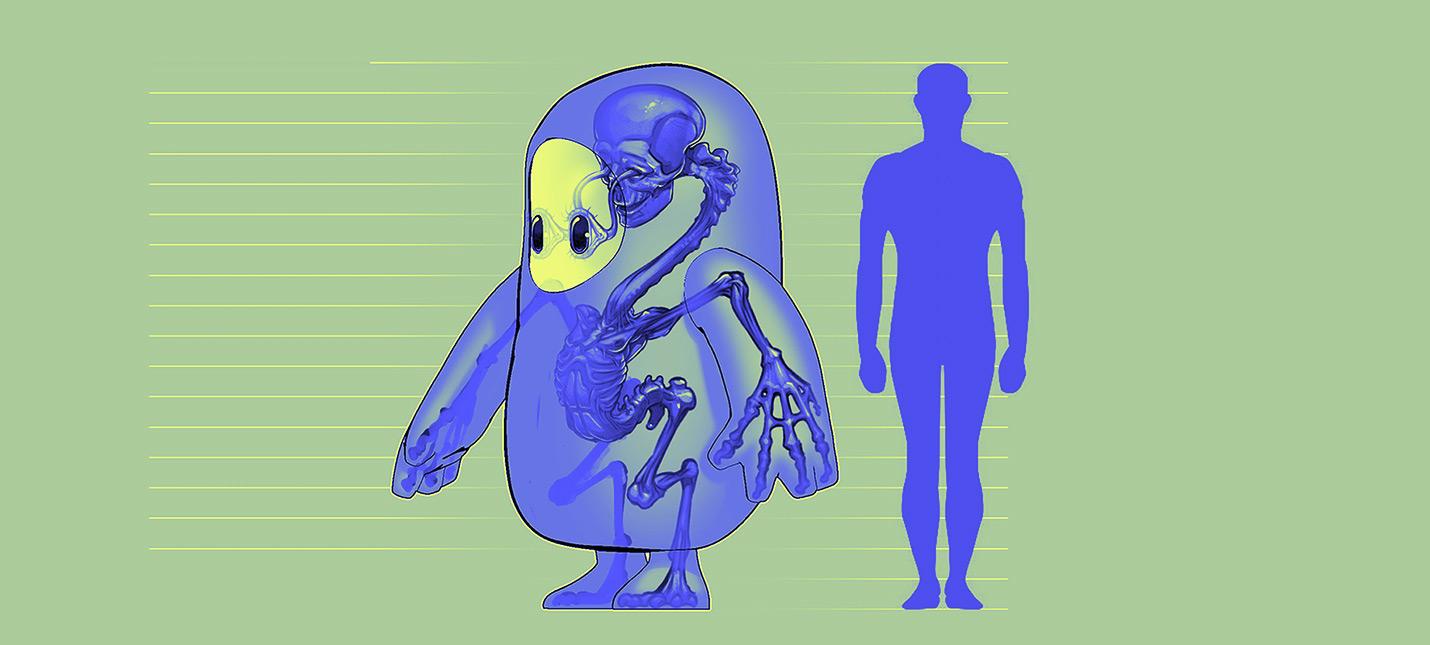 Настоящий хоррор — как персонажи Fall Guys выглядят изнутри