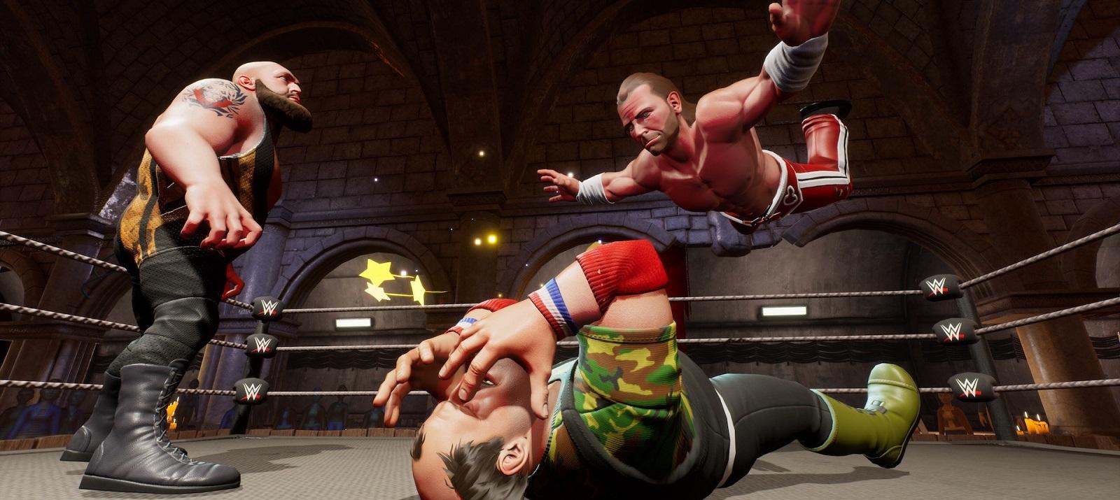 Мультяшная клякса: Обзор WWE 2K Battlegrounds