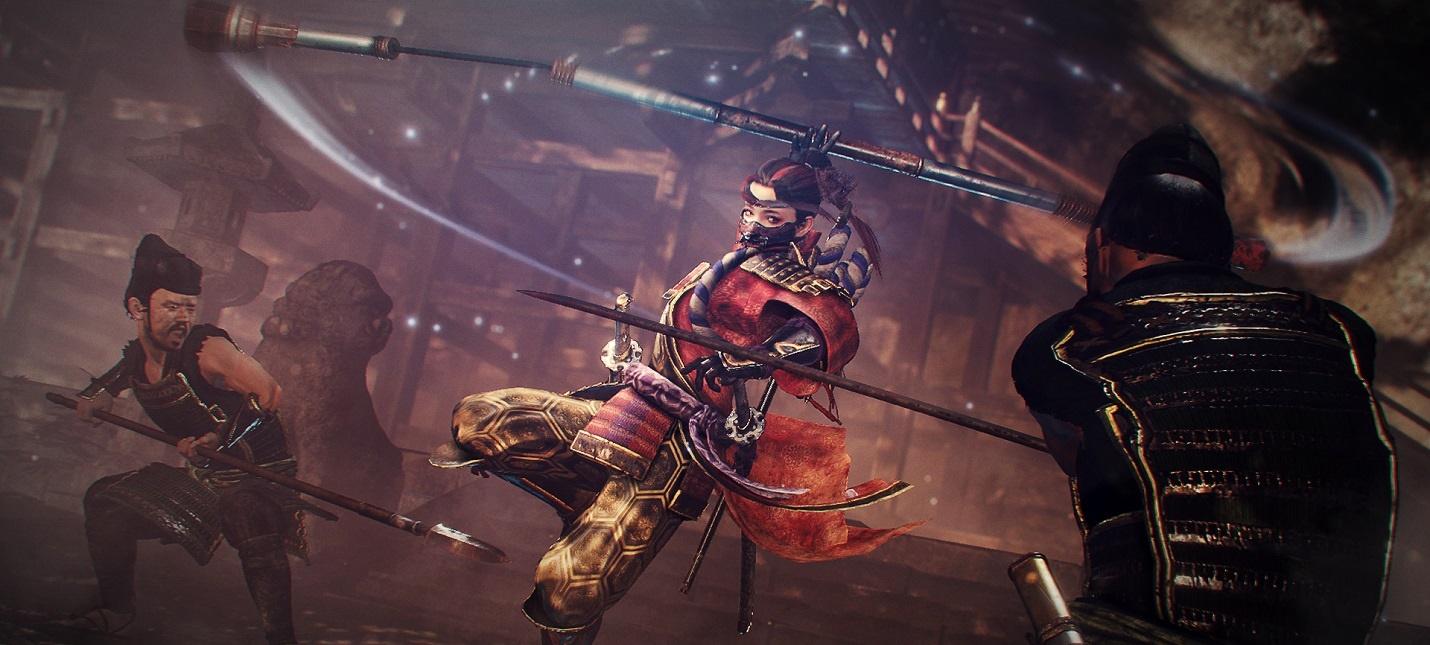 Второе дополнение для Nioh 2 получило название Darkness in the Capital  выйдет 15 октября