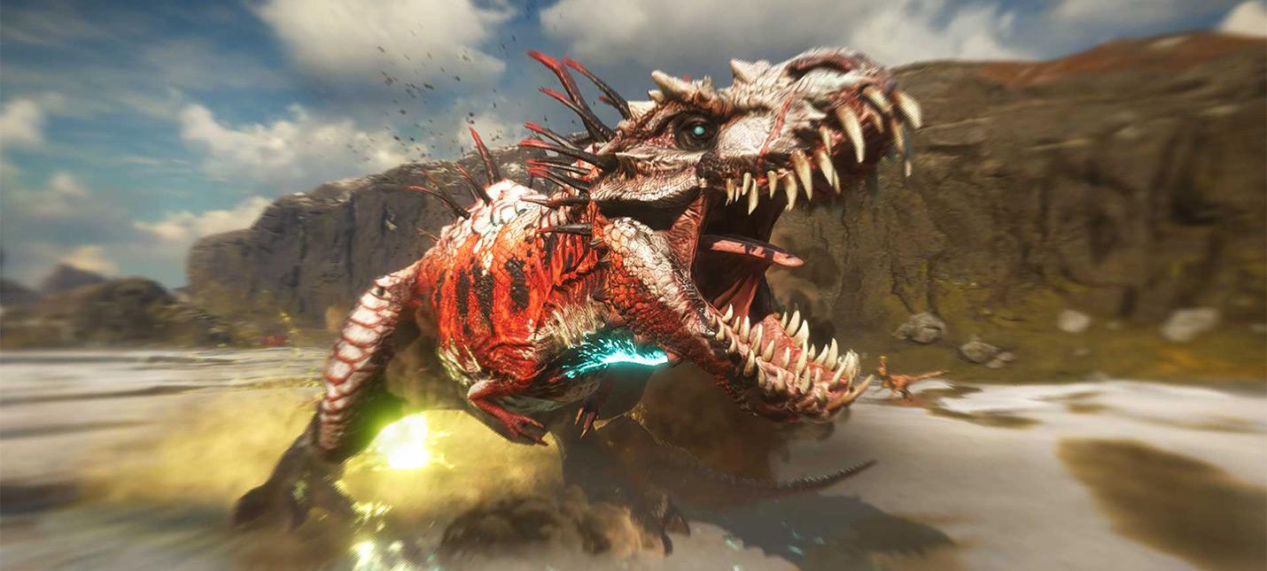 Отстрел динозавров в новом геймплее Second Extinction