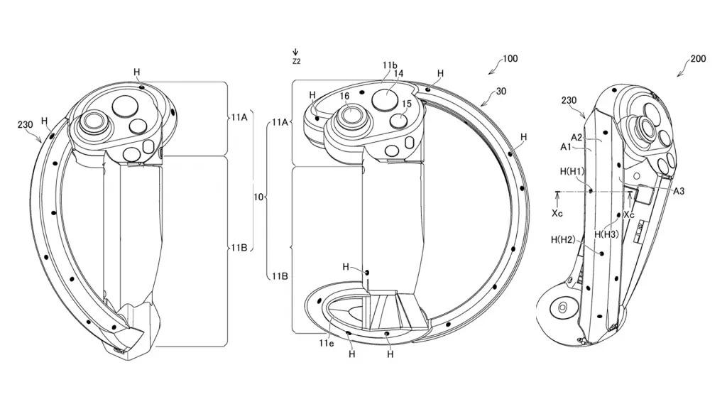 В сети обнаружили патент контроллеров следующего поколения PlayStation VR