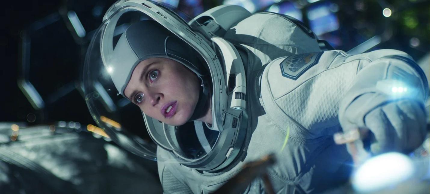 Бородатый Джордж Клуни на первых кадрах sci-fi фильма The Midnight Sky