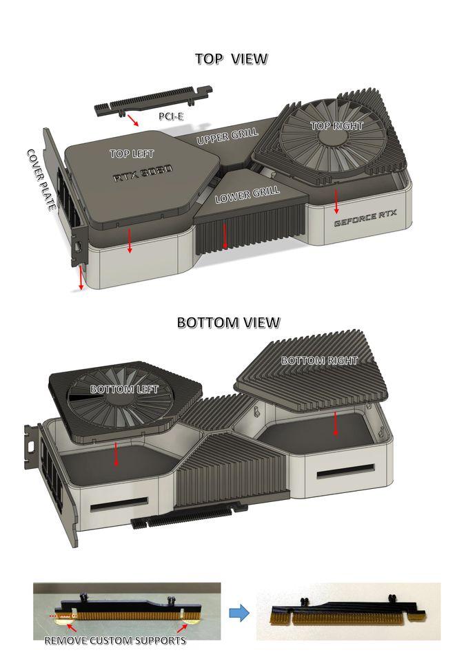 Энтузиаст создал на 3D-принтере копилку в виде RTX 3080