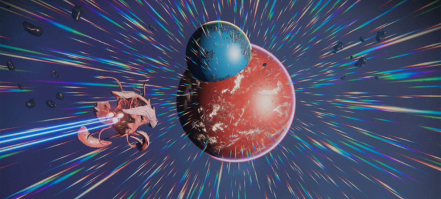 Игрок No Man's Sky нашел уникальное явление — две соединенные планеты