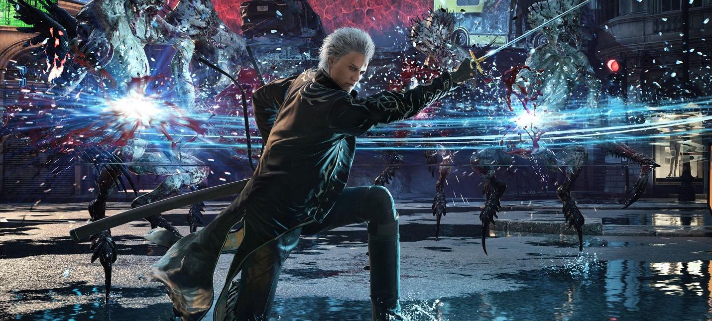Трассировка лучей и сотни врагов  геймплей и детали Devil May Cry 5 Special Edition