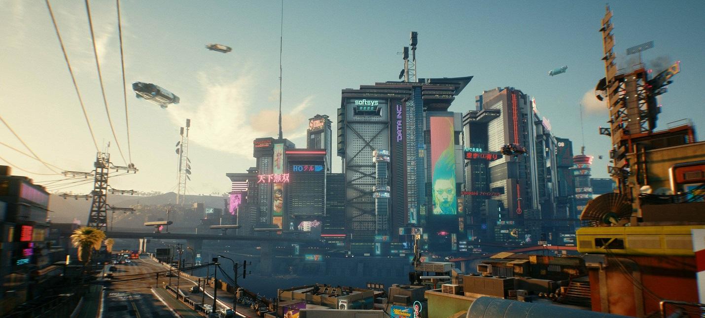 Ретро и футуризм — как создавался Найт-Сити из Cyberpunk 2077