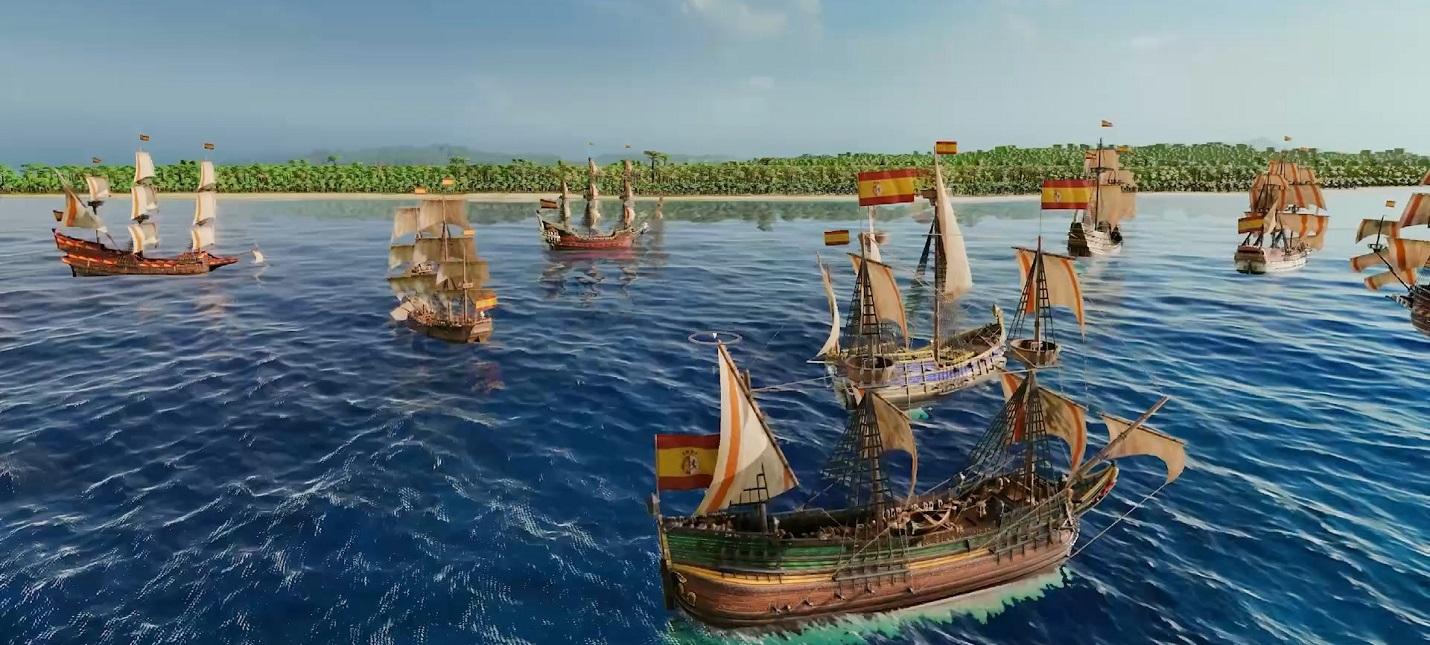 Развитие городов, торговля и война в релизном трейлере Port Royale 4