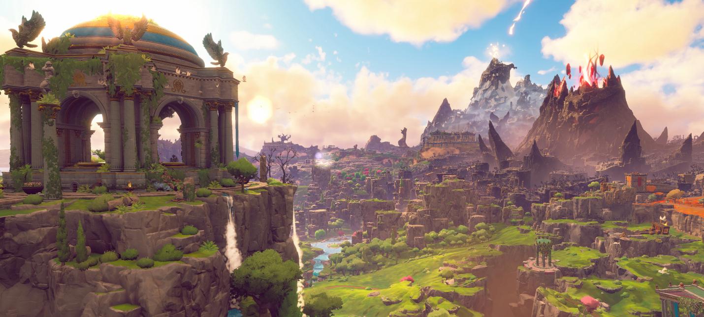 Новый геймплей Immortals Fenyx Rising с локацией Афродиты