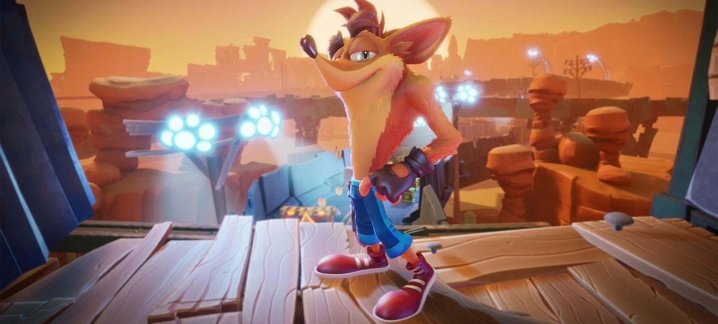 Стартовала предзагрузка Crash Bandicoot 4 Its About Time