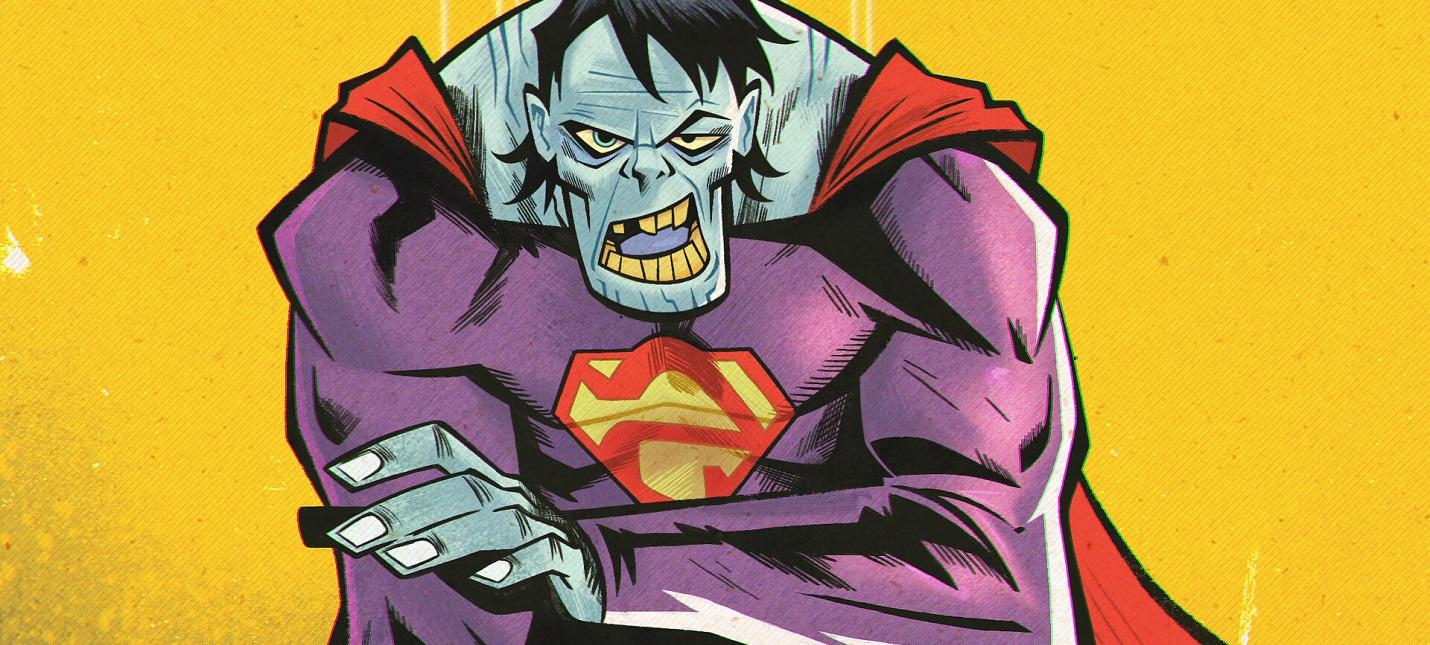 Художник показал модель Бизарро из отмененной игры про Супермена