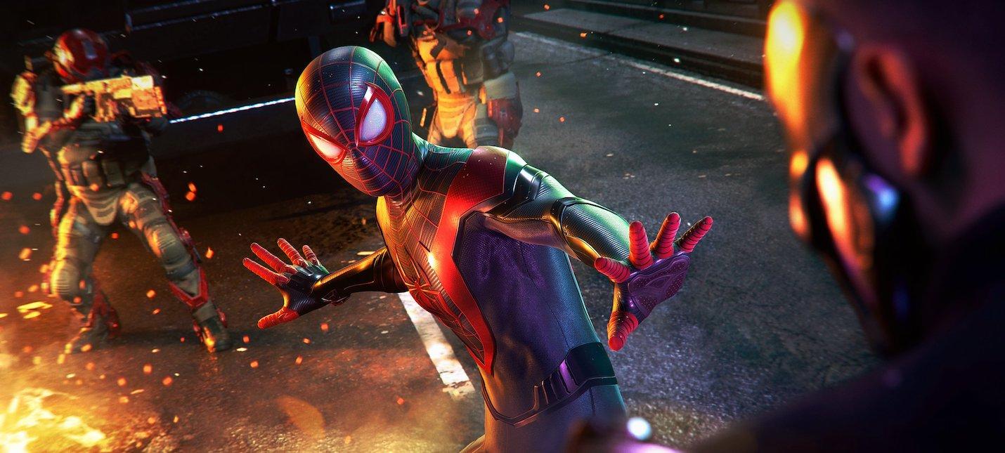 Игроки смогут перенести сохранения Spider-Man Miles Morales с PS4 на PS5
