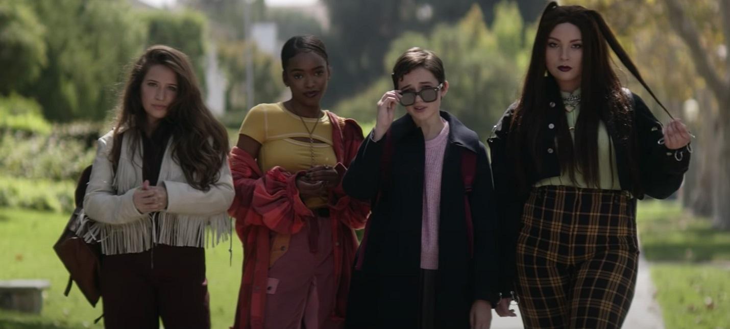 """Девочки со сверхспособностями в трейлере молодежного хоррора """"Колдовство"""""""