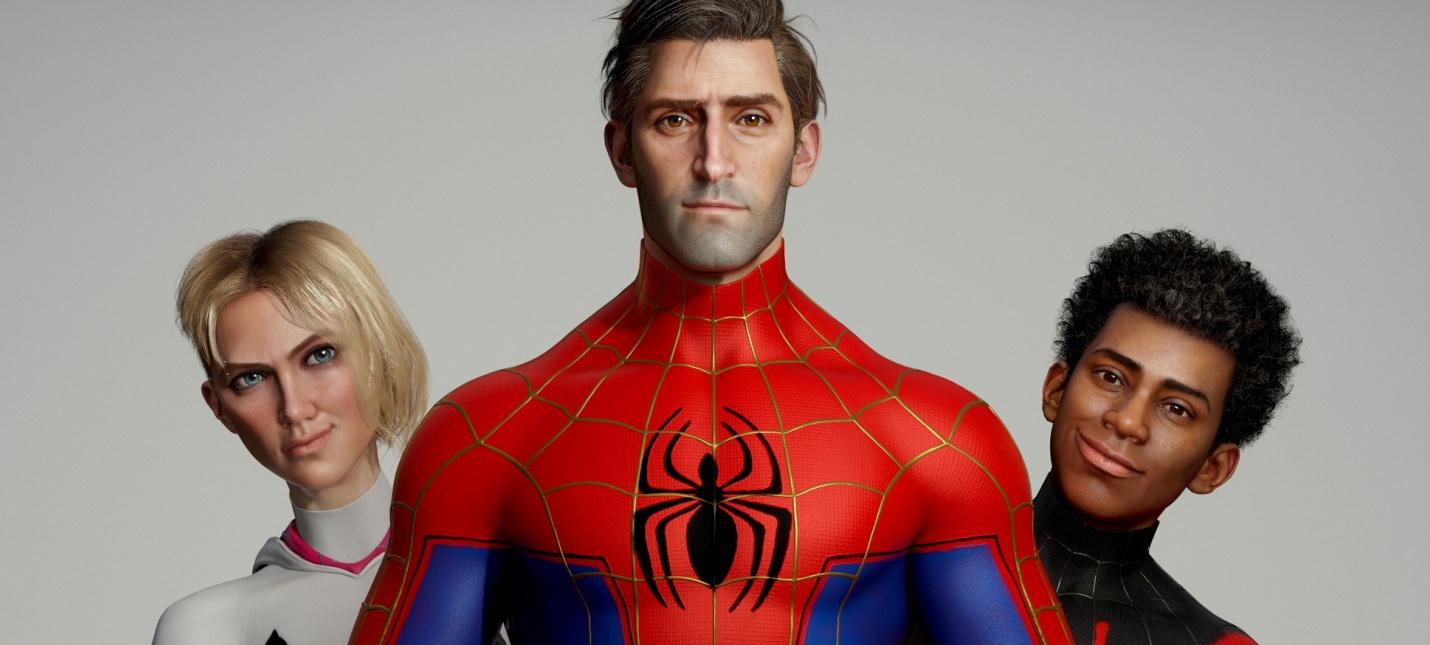 """Как бы выглядели реалистичные версии героев из """"Человека-паука: Через вселенные"""""""