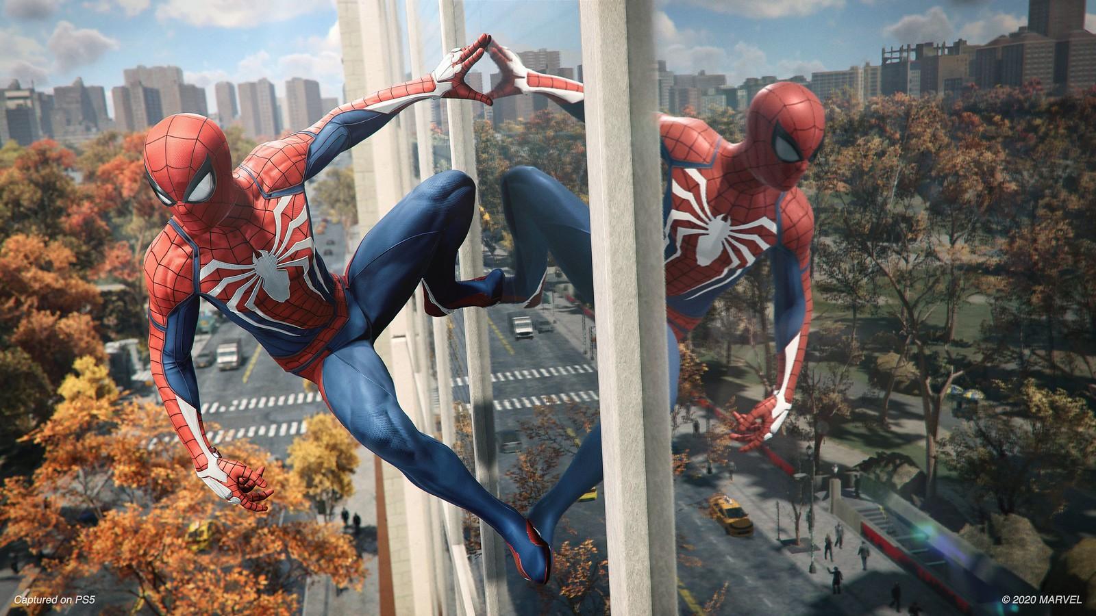 Первый взгляд на ремастер Marvel's Spider-Man — Паркер с новым лицом