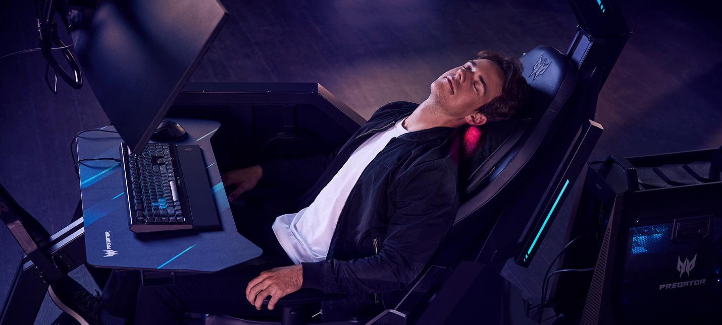 Acer открыла предзаказы на игровое кресло за 2 миллиона рублей