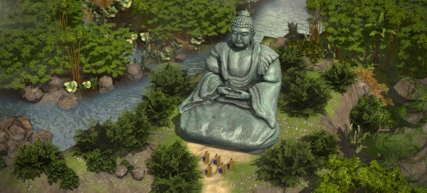 Ниндзя, монахи, кавалерия  особенности юнитов Stronghold Warlords
