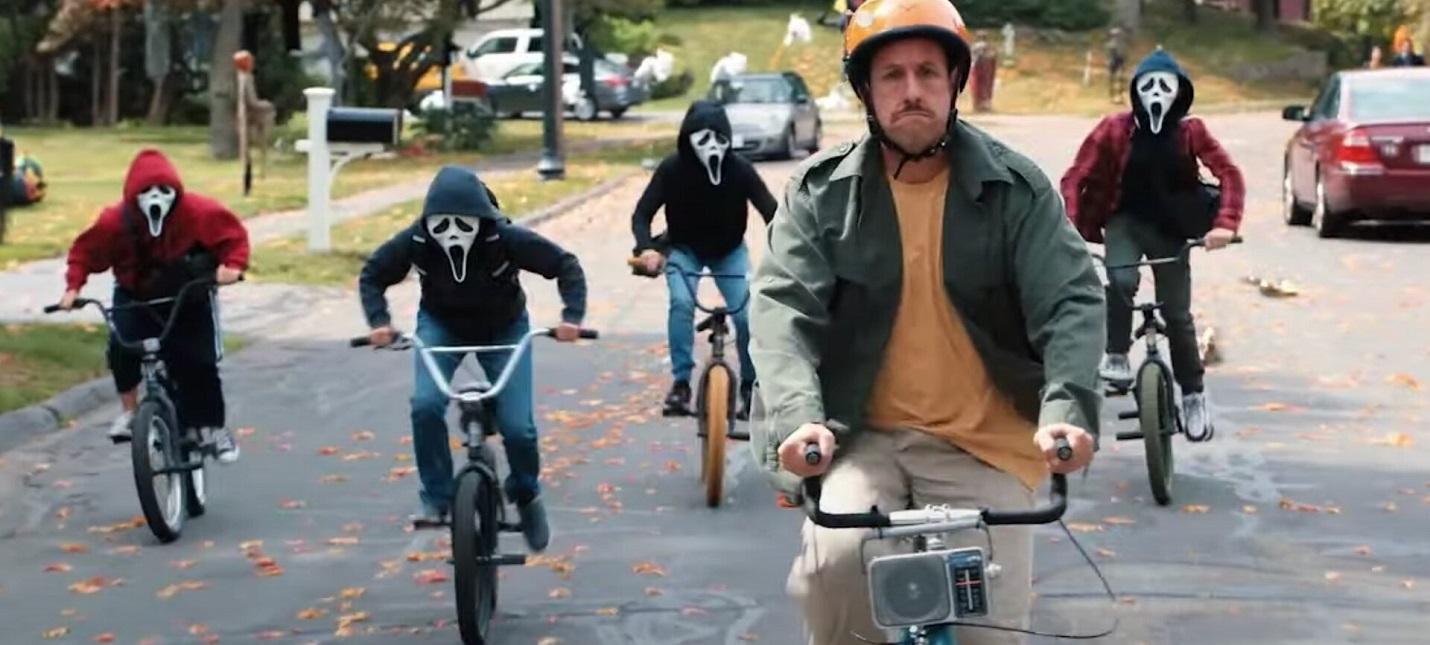 Веселый Адам Сэндлер в новом трейлере комедии Hubie Halloween