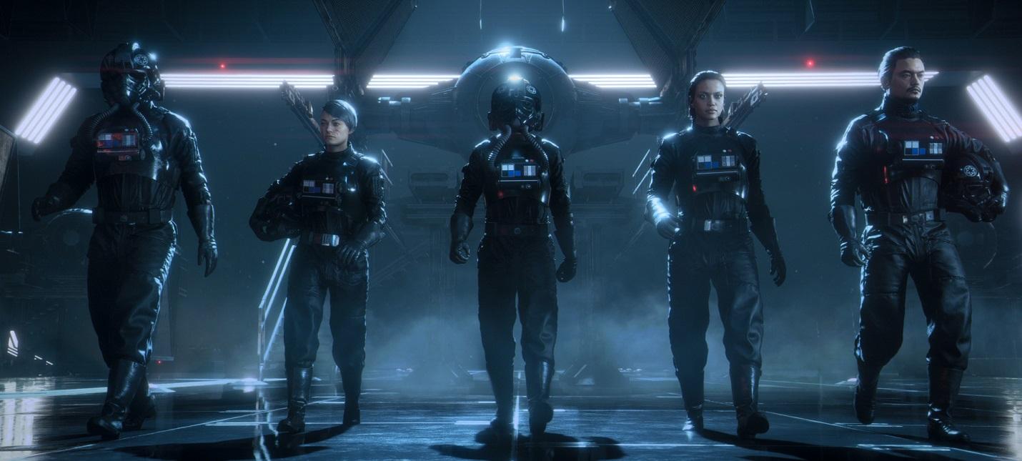 Первые 19 минут сюжетной кампании Star Wars: Squadrons