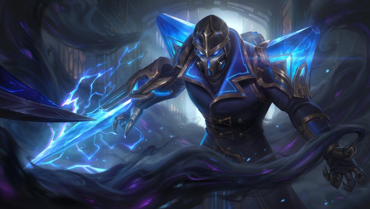 Трейлер события и новых образов для League of Legends